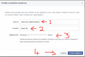 Facebook Lookalike audience