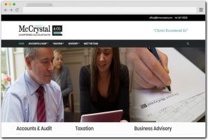 Chartered Accountants Firm Website Design